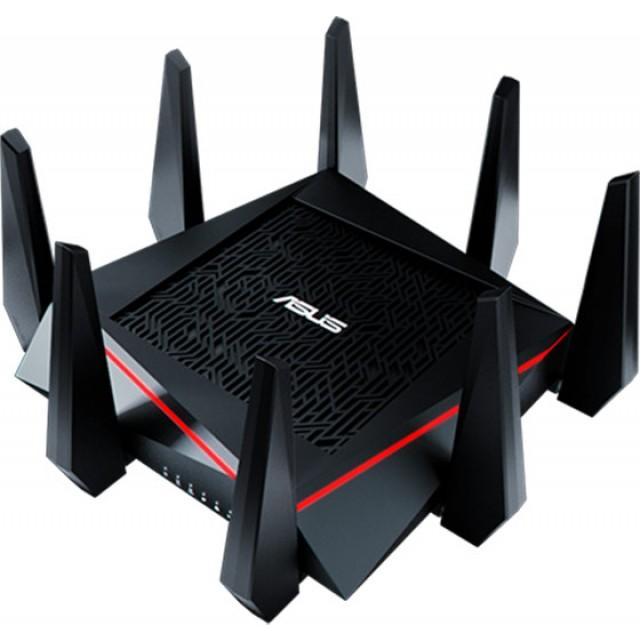 Router ASUS RT-AC5300 WAN: 1xGigabit WiFi: 802.11ac-5300Mbps