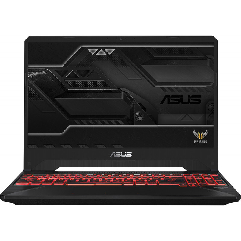 Notebook Asus TUF FX505GE 15.6 Full HD Intel Core i7-8750H GTX 1050 Ti-4GB RAM 8GB HDD 1TB + SSD 256GB No OS Negru
