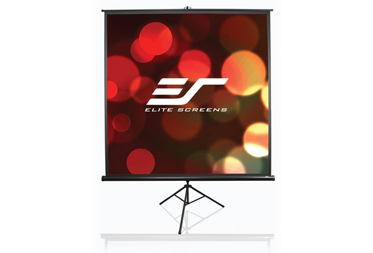 Ecran de proiectie cu trepied EliteScreens T136UWS1 marime vizibila 244cm x 244cm