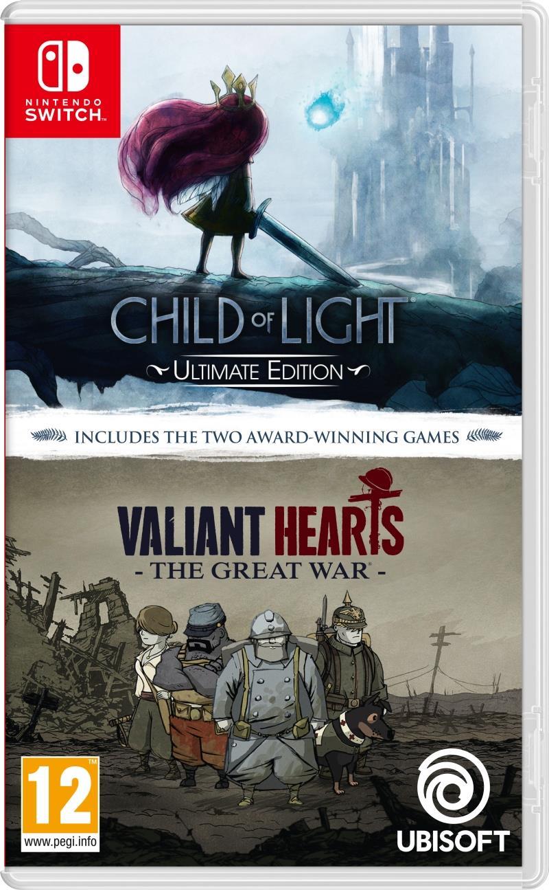 Compilation Child Of Light & Valiant Hearts - Nintendo Switch