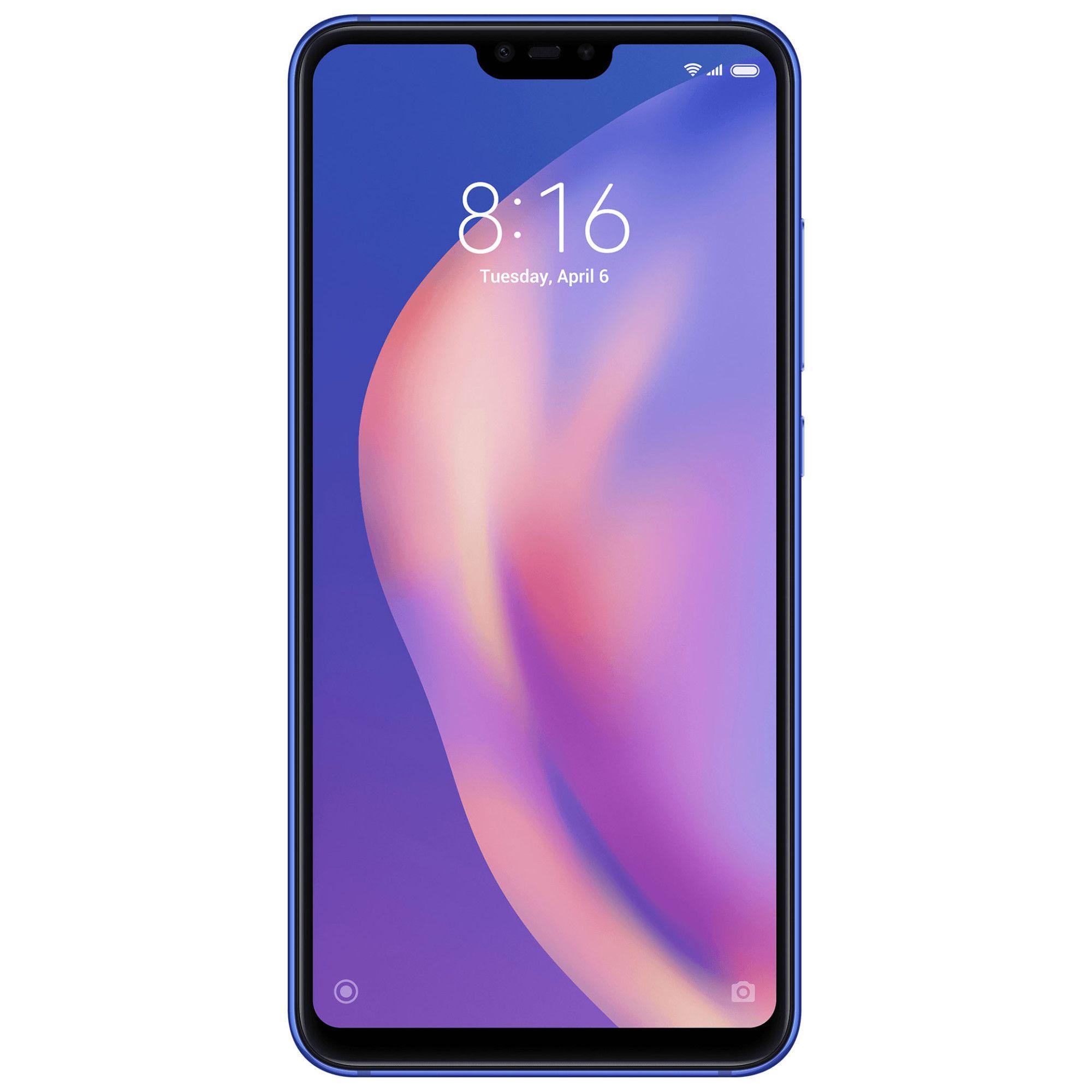 Telefon Mobil Xiaomi Mi 8 Lite 64GB Flash 4GB RAM Dual SIM 4G Aurora Blue