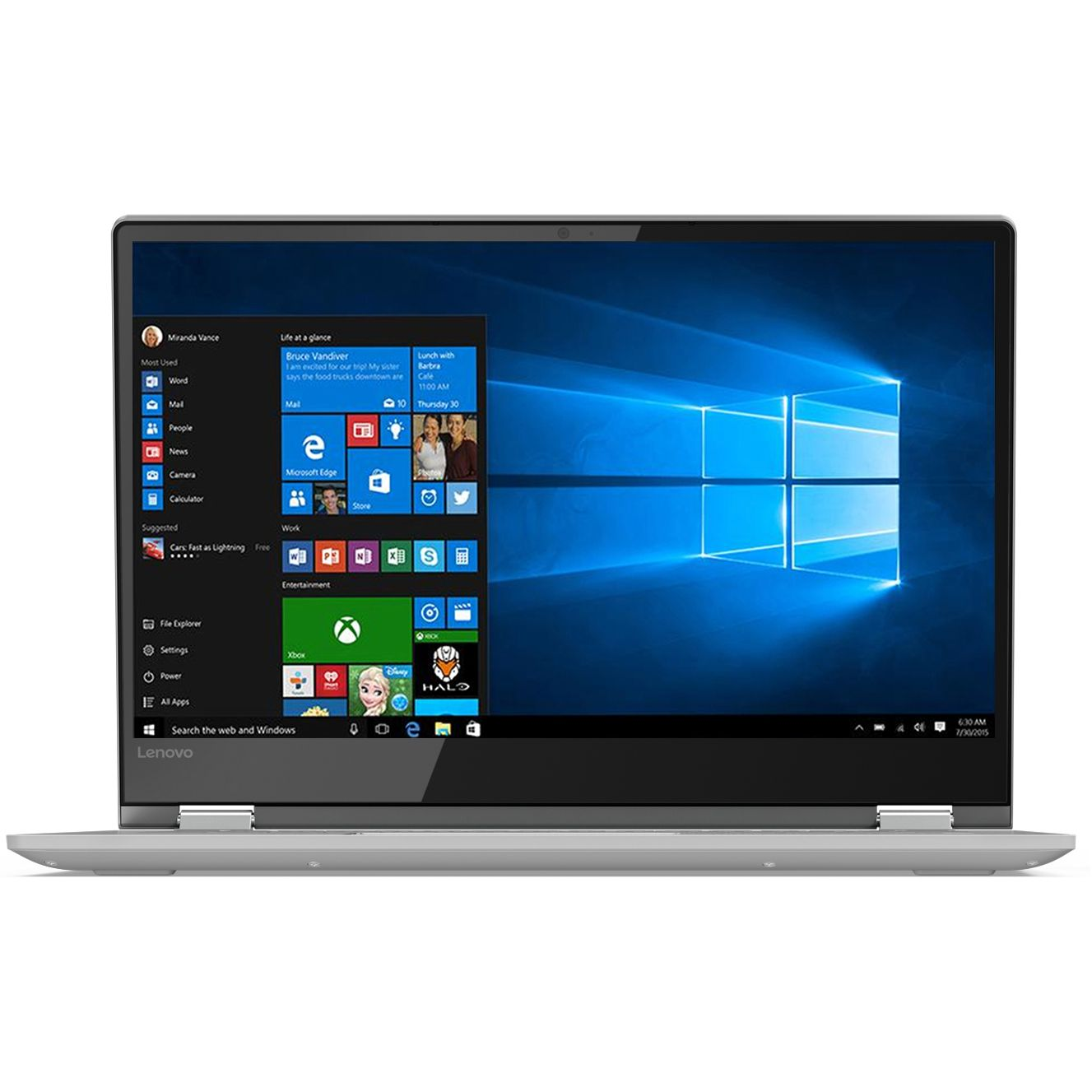 Ultrabook Lenovo Yoga 530 14 Full HD Touch Intel Core i5-8250U RAM 8GB SSD 256GB Windows 10 Home Gri