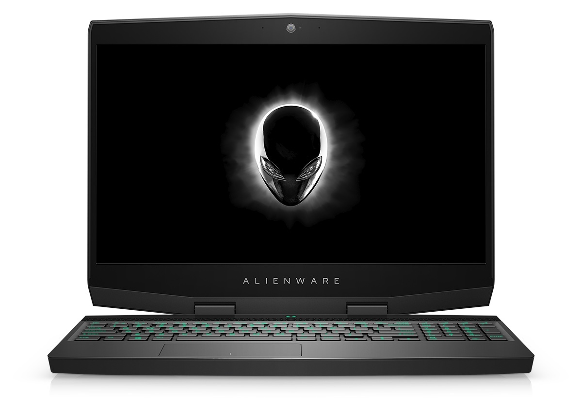 Notebook Dell Alienware M15 15.6 Full HD Intel Core i7-8750H GTX 1060-6GB RAM 8GB HDD 1TB + SSD 128GB Windows 10 Pro Argintiu