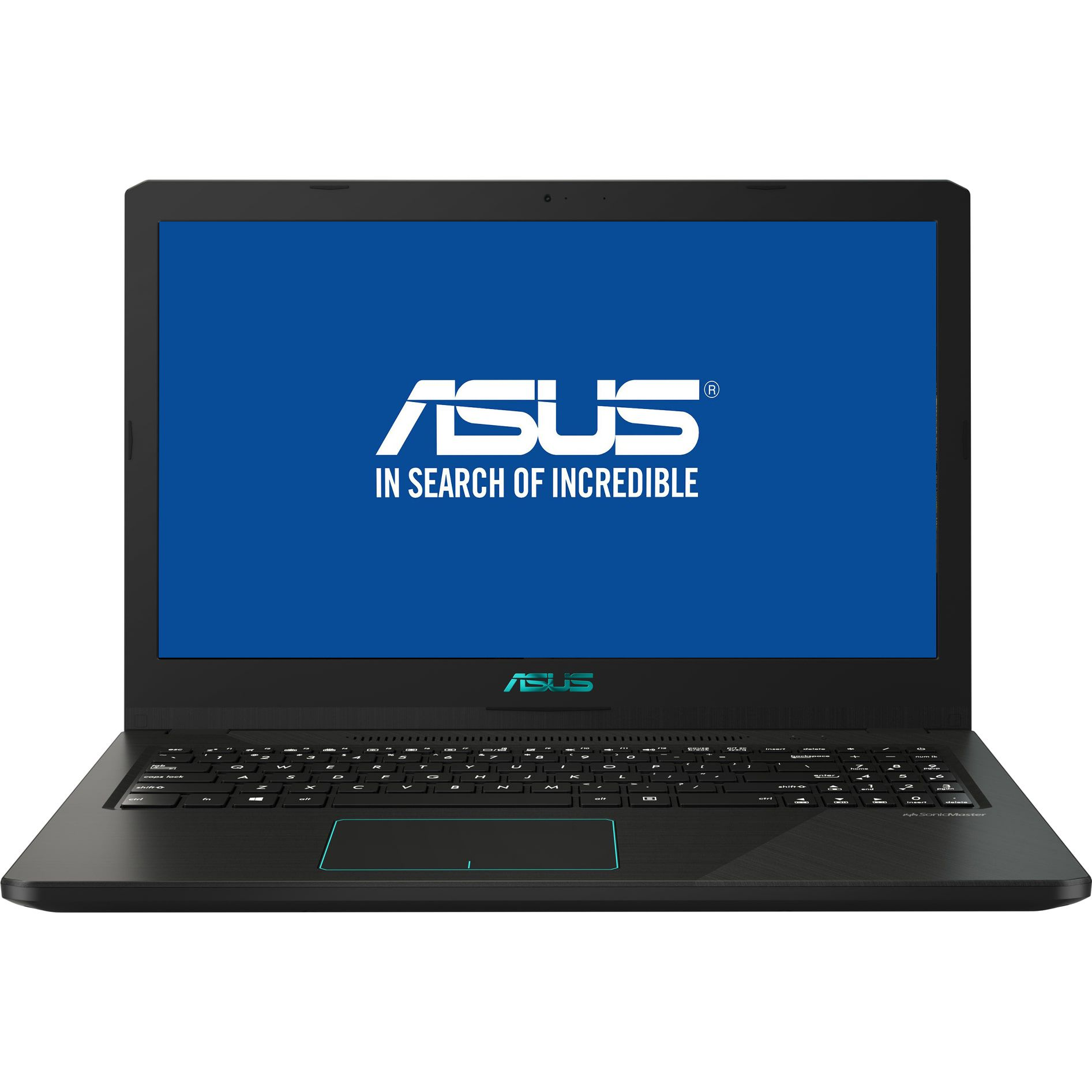 Notebook Asus X570ZD 15.6 Full HD AMD Ryzen R7-2700U GTX 1050-4GB RAM 8GB HDD 1TB Endless OS Negru