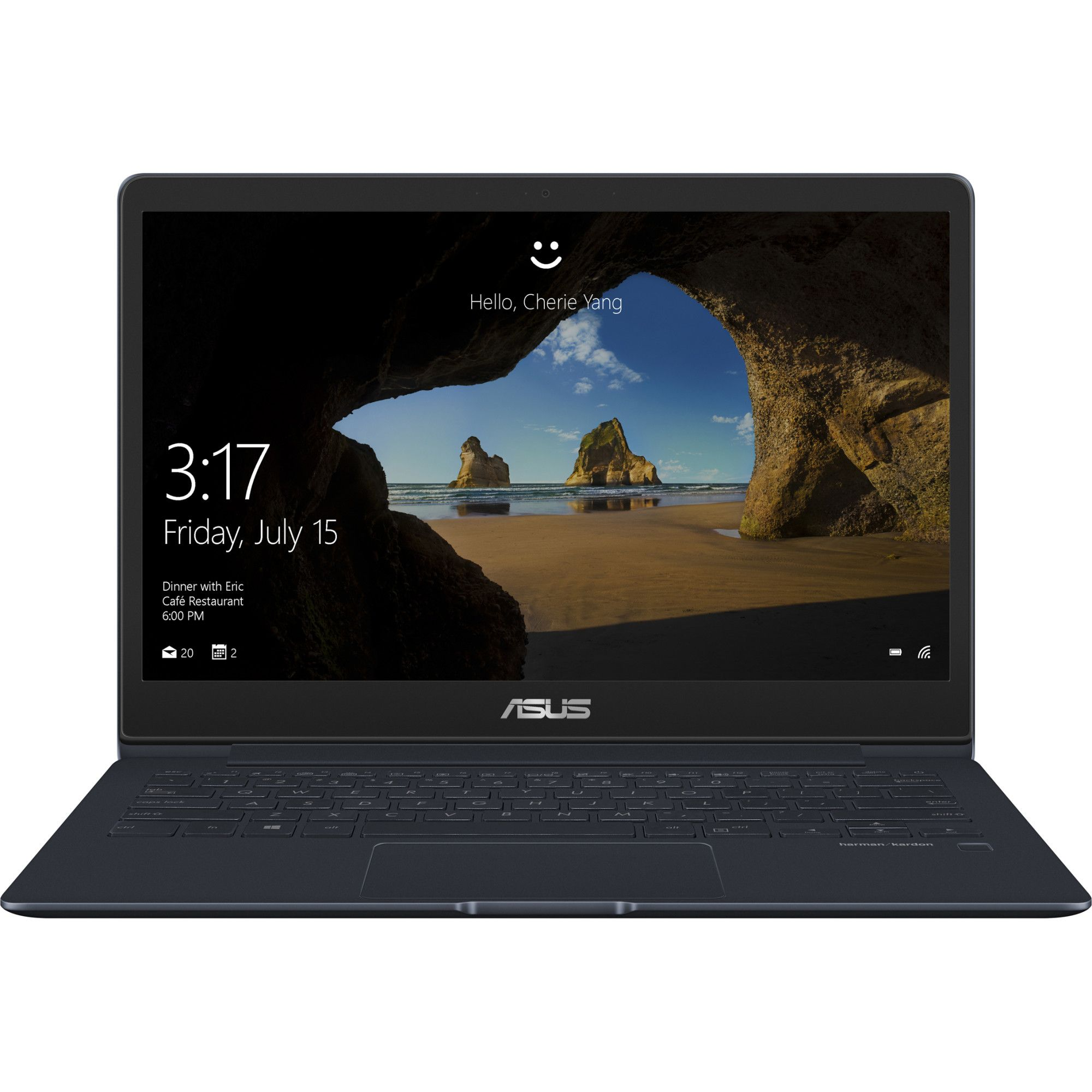 Ultrabook Asus ZenBook UX331FAL 13.3 Full HD Intel Core i5-8265U RAM 8GB SSD 256GB Windows 10 Albastru