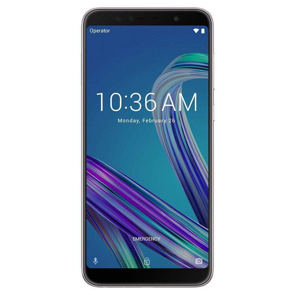 Telefon Mobil Asus ZenFone Max Pro ZB602KL 64GB Flash 4GB RAM Dual SIM 4G Silver