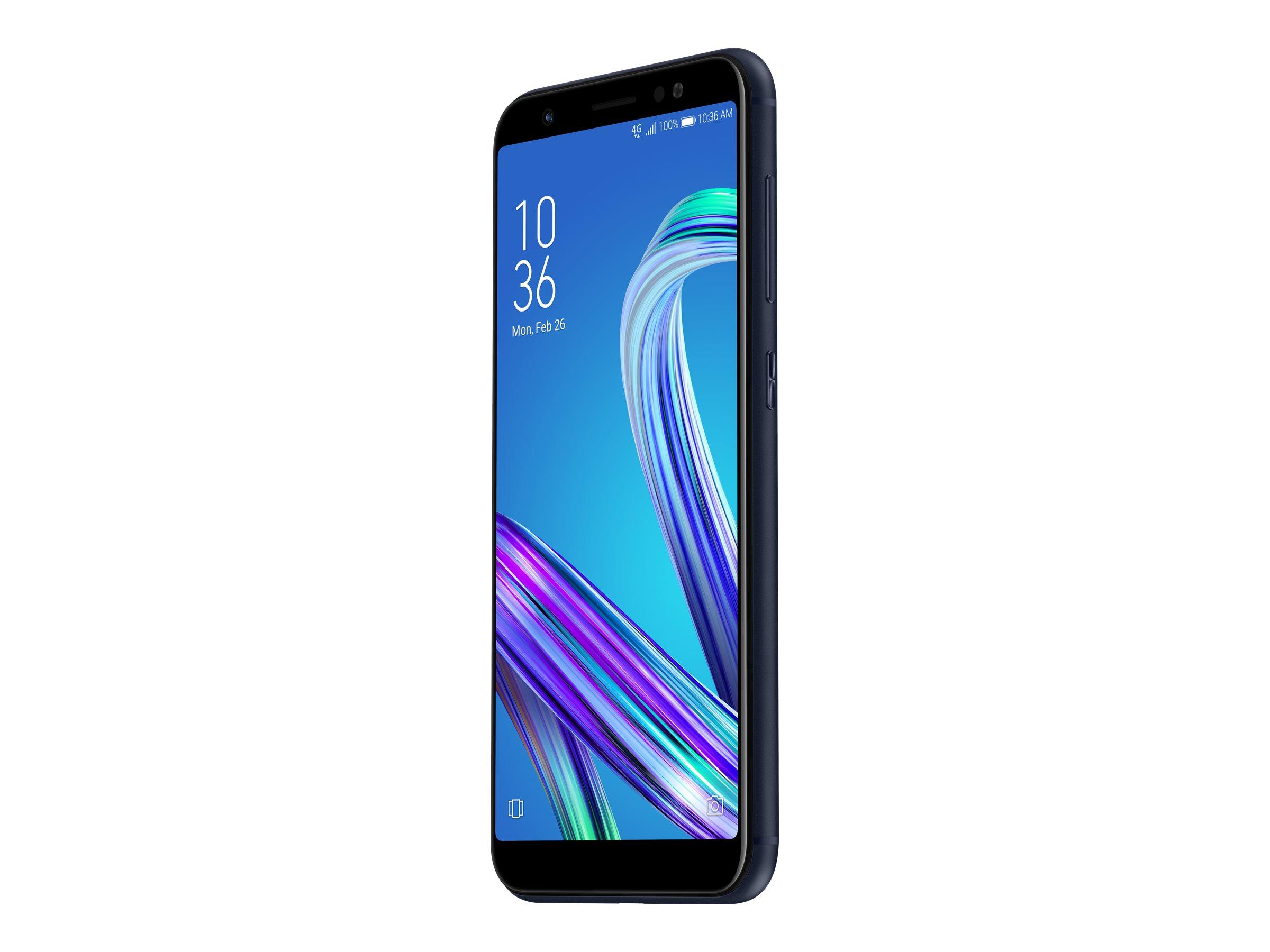 Telefon Mobil Asus ZenFone Max M1 ZB555KL 32GB Flash 3GB RAM Dual SIM 4G Black