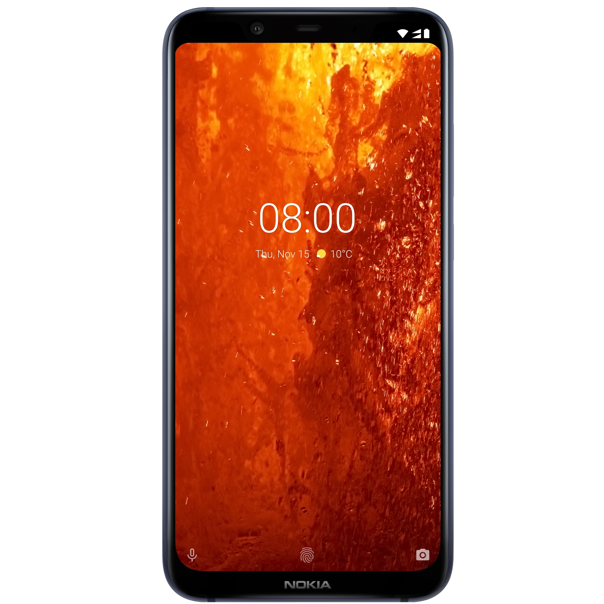 Telefon Mobil Nokia 8.1 64GB Flash 4GB RAM Dual SIM 4G Blue