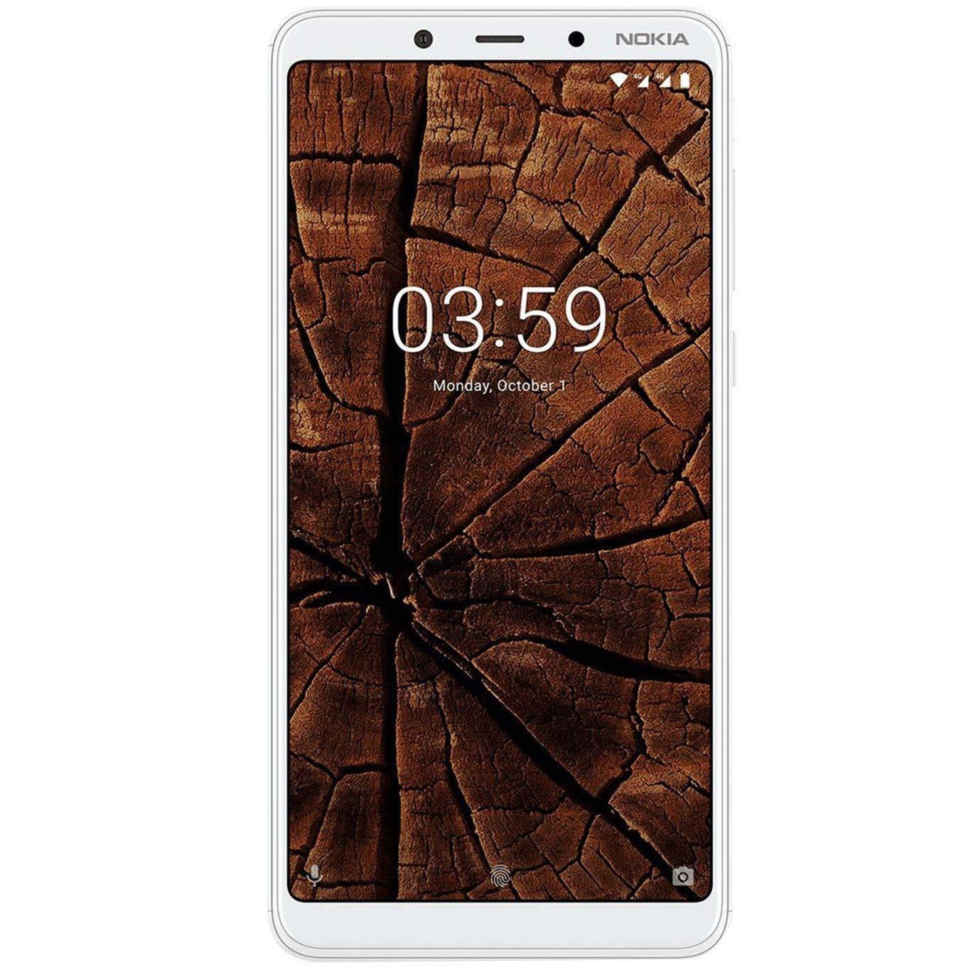 Telefon Mobil Nokia 3.1 Plus (2018) 32GB Flash 3GB Dual SIM 4G White