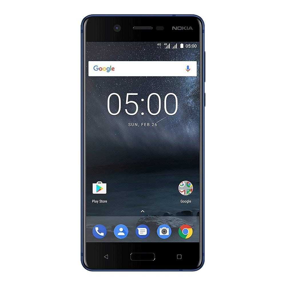 Telefon Mobil Nokia 5 16GB Flash 2GB RAM Single SIM 4G Tempered Blue