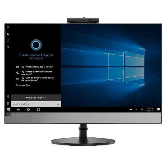 Sistem All-In-One Lenovo V530 21.5 Full HD Intel Core i3-8100T RAM 4GB HDD 1TB Windows 10 Pro Negru