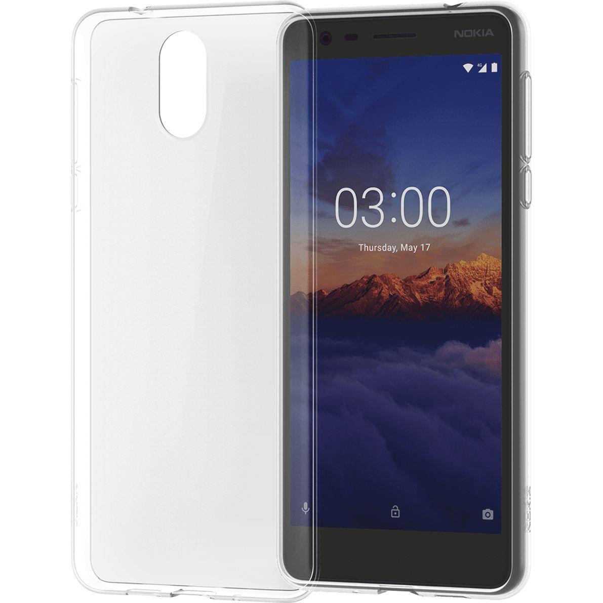 Capac protectie spate Nokia Clear Case pentru Nokia 3.1 Transparent