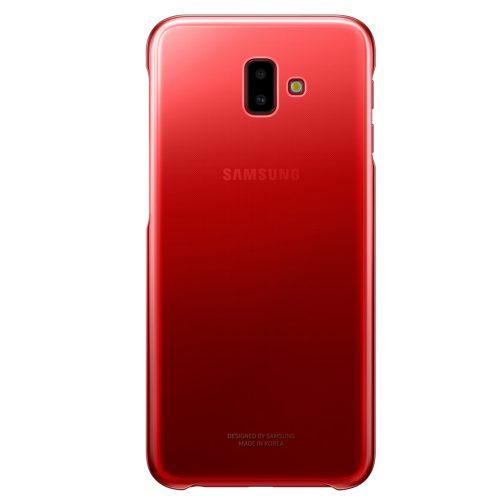 Capac protectie spate Samsung Gradation Cover pentru Galaxy J6 Plus 2018 (J610) Red
