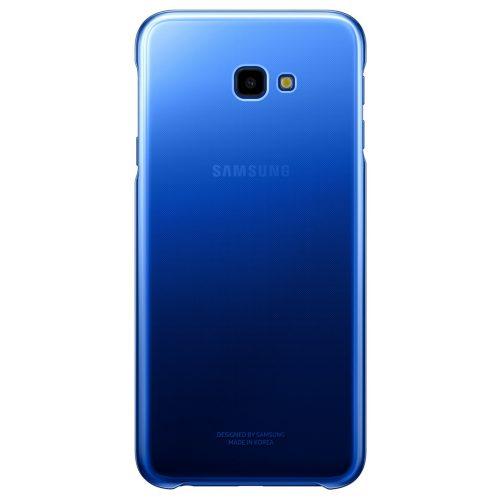 Capac protectie spate Samsung Gradation Cover pentru Galaxy J4 Plus 2018 Blue