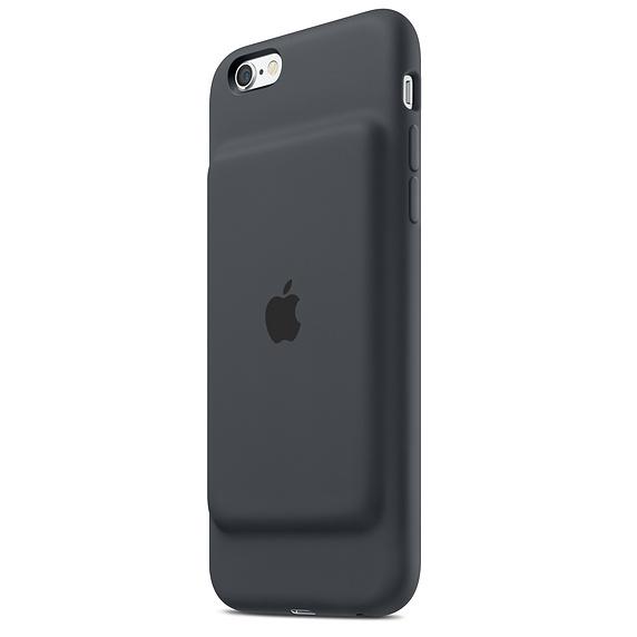 Husa Apple Smart Battery Case pentru iPhone 6s Charcoal Grey