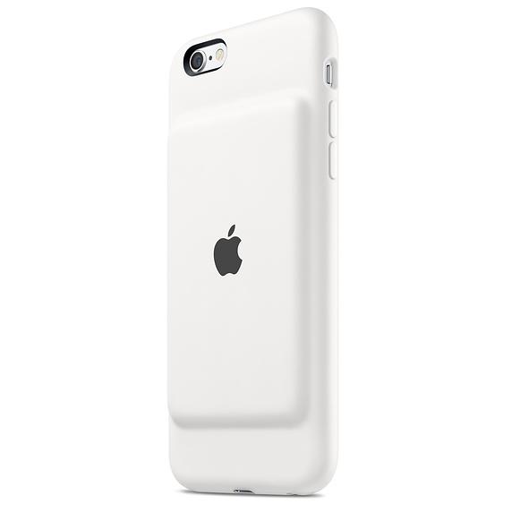 Husa Apple Smart Battery Case pentru iPhone 6s White