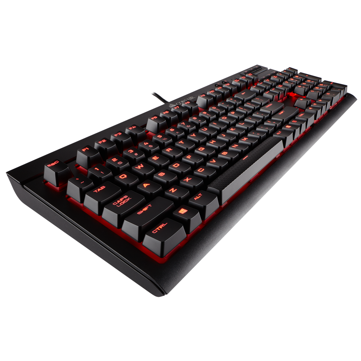 Tastatura Gaming Corsair K68 Mechanical Red LED Cherry MX Red