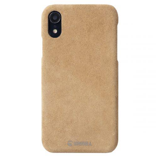 Capac protectie spate Krusell Broby Cover pentru Apple iPhone XR 6.1″ Cognac