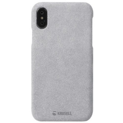 Capac protectie spate Krusell Broby Cover pentru Apple iPhone XS Max 6.5″ Grey