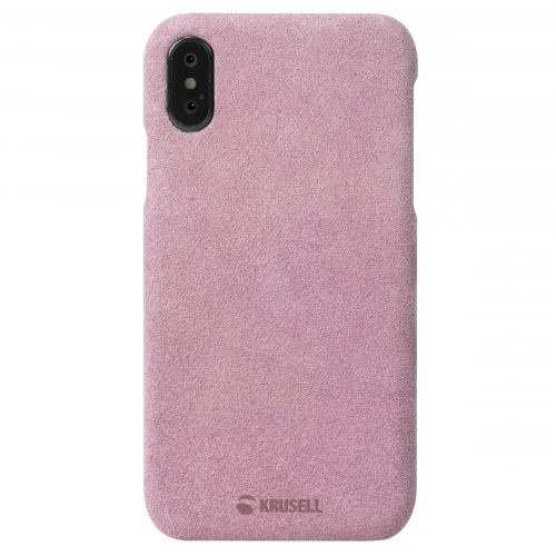 Capac protectie spate Krusell Broby Cover pentru Apple iPhone XS Max 6.5″ Pink