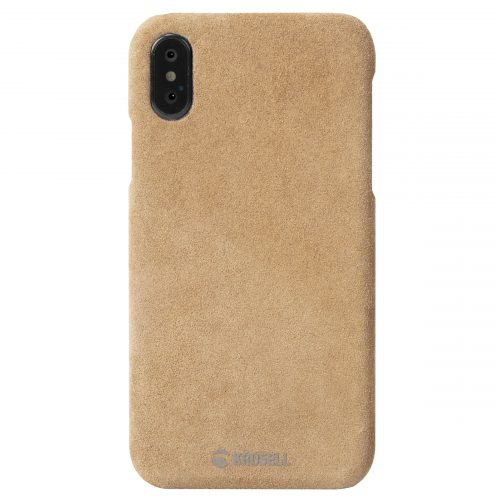 Capac protectie spate Krusell Broby Cover pentru Apple iPhone XS Max 6.5″ Cognac