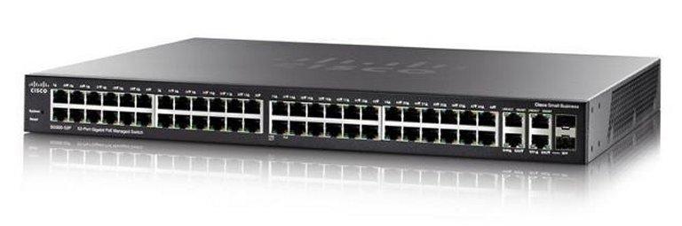 Switch Cisco SG350-52-K9 fara PoE 52x1000Mbps-RJ45