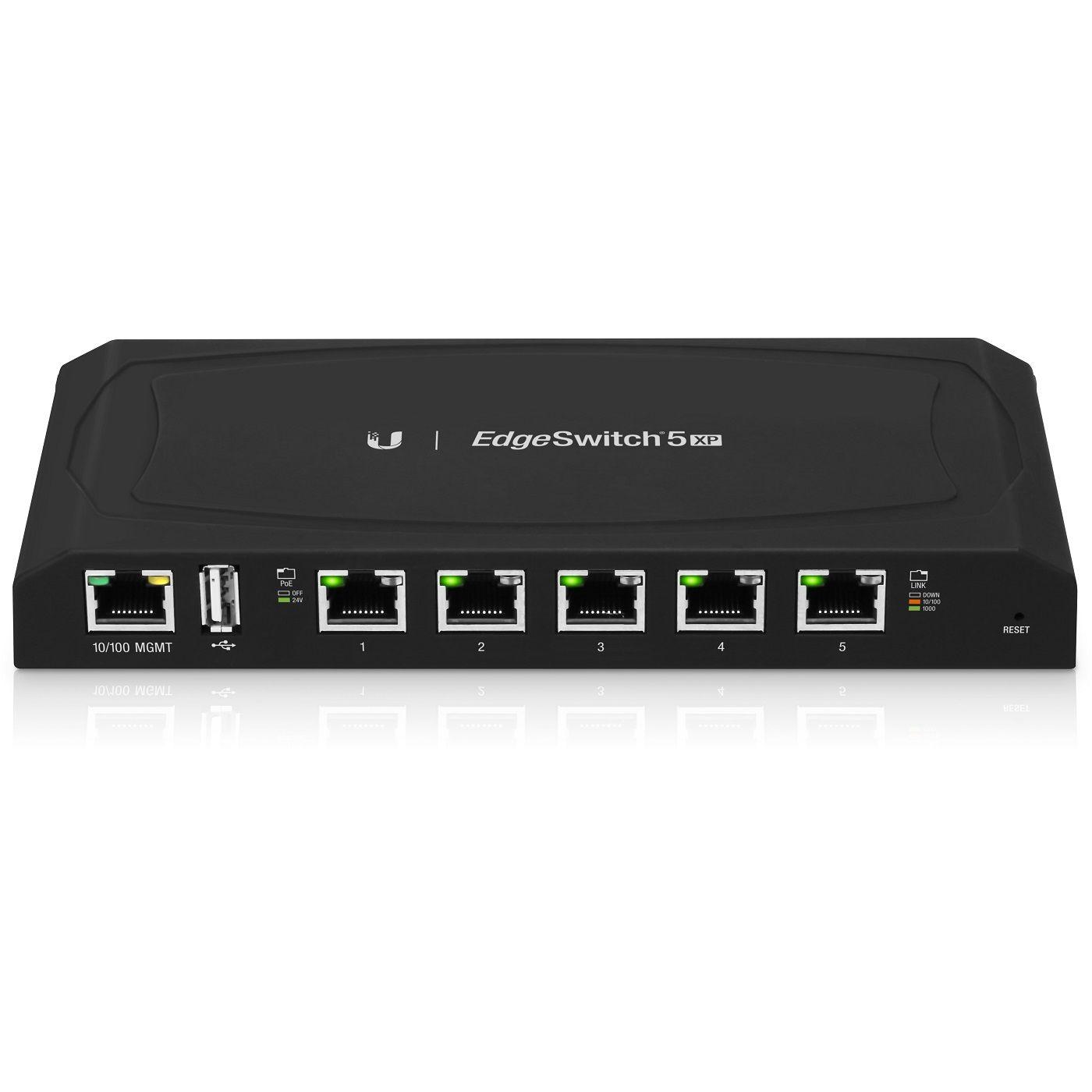 Switch Uniquiti UniFi ES-5XP fara management cu PoE 5x1000Mbps