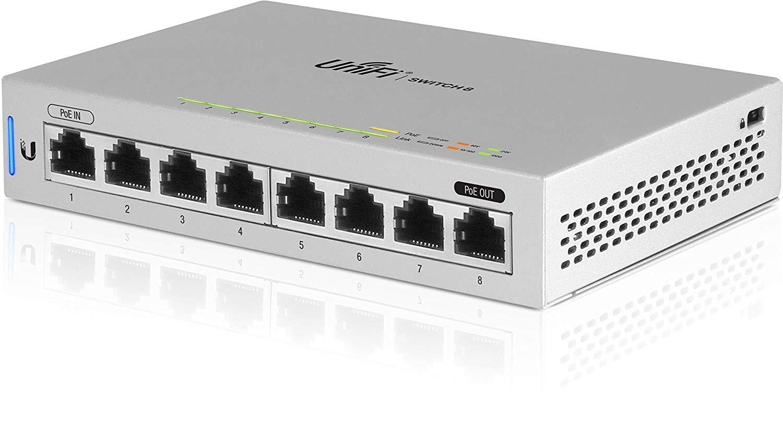 Switch Ubiquiti US-8-5 cu management cu PoE 8x1000Mbps RJ45 5 pack