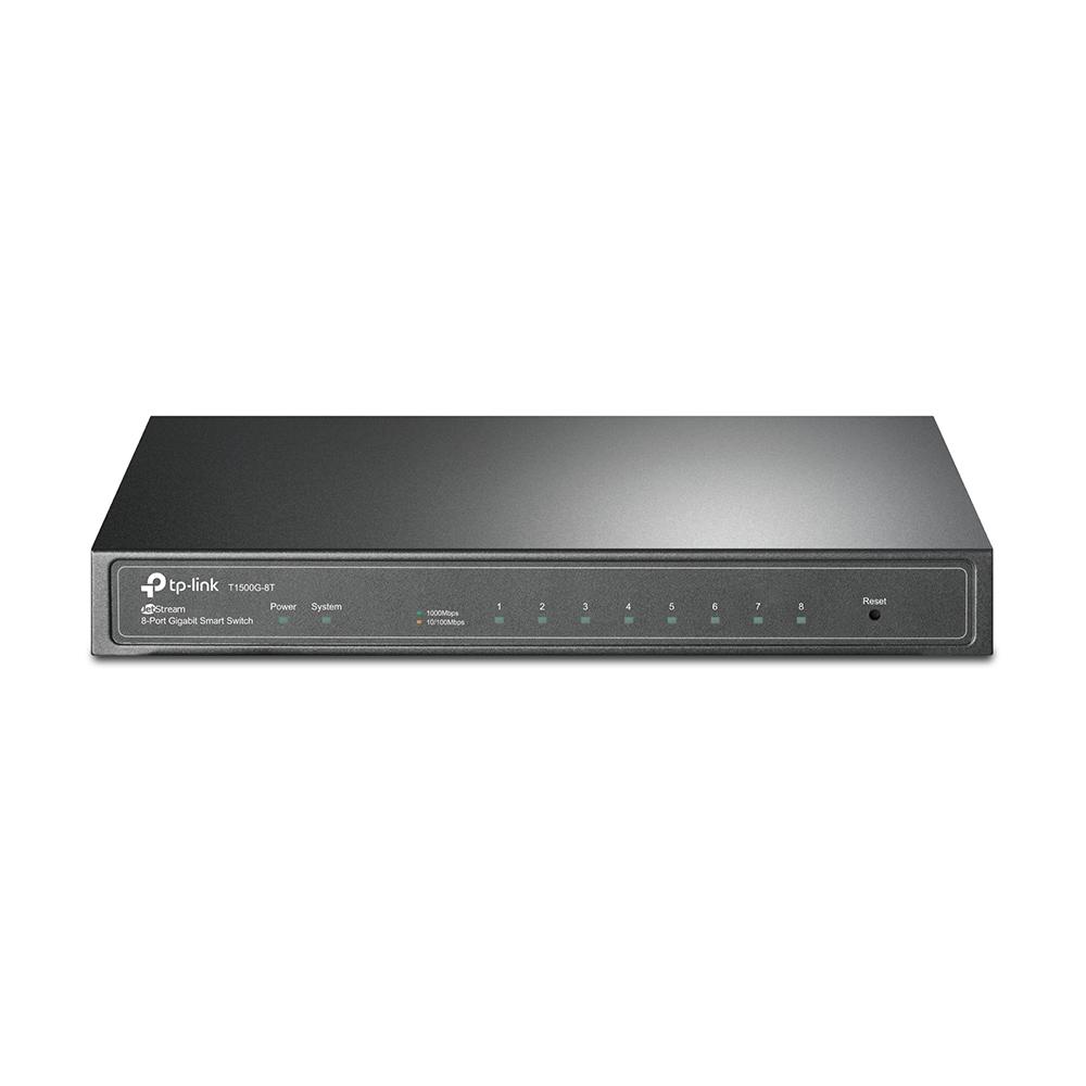 Switch Tp-Link JetStream cu management cu PoE 8x1000Mbps RJ45