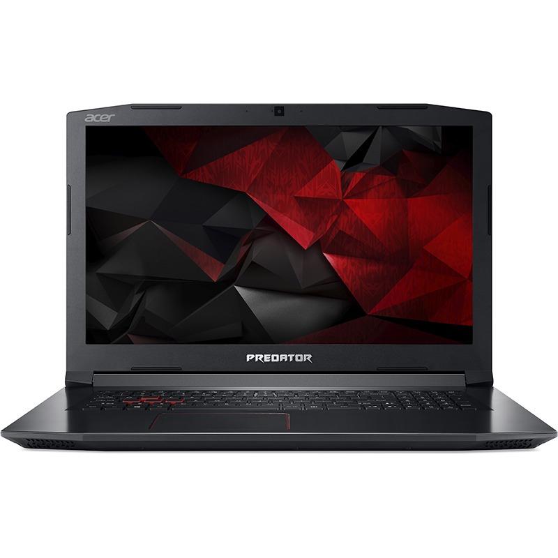 Notebook Acer Predator PH317-52 17.3 Full HD Intel Core i7-8750H GTX 1050 Ti-4GB RAM 8GB HDD 1TB + SSD 256GB Linux Negru