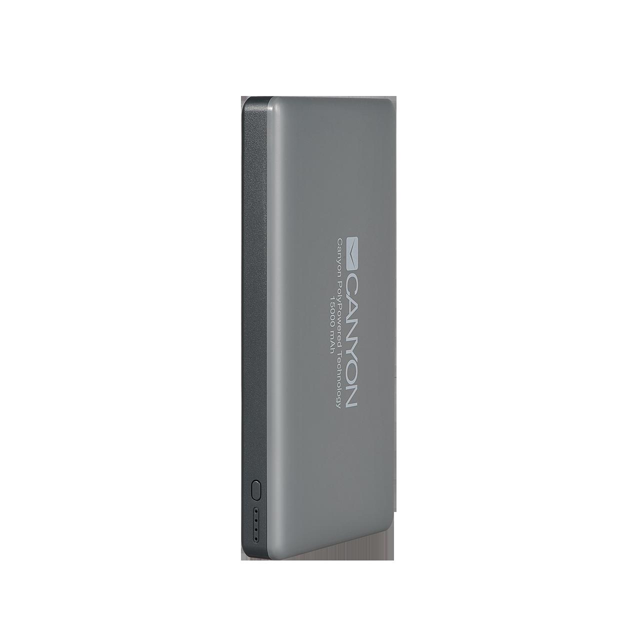 Baterie Externa Canyon CNS-TPBP15DG 15000mAh Gri