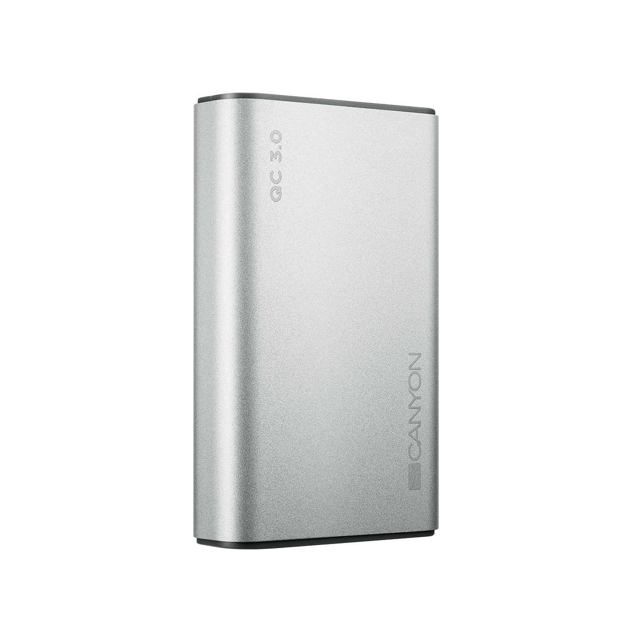 Baterie Externa Canyon CND-TPBQC10S Quick Charge 3.0 10000mAh Silver