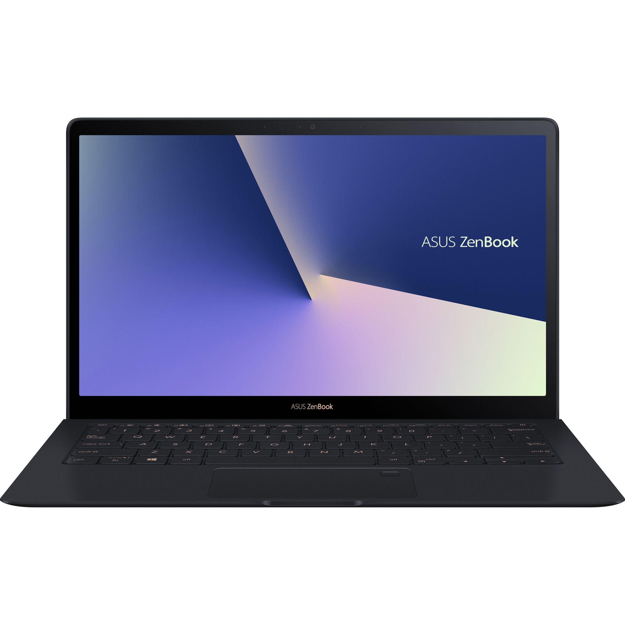 Ultrabook Asus ZenBook S UX391FA 13.3 Full HD Intel Core i7-8565U RAM 16GB SSD 512GB Windows 10 Pro Albastru