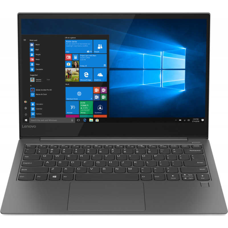 Ultrabook Lenovo Yoga S730 13.3 Full HD Intel Core i7-8565U RAM 16GB SSD 1TB Windows 10 Home Gri