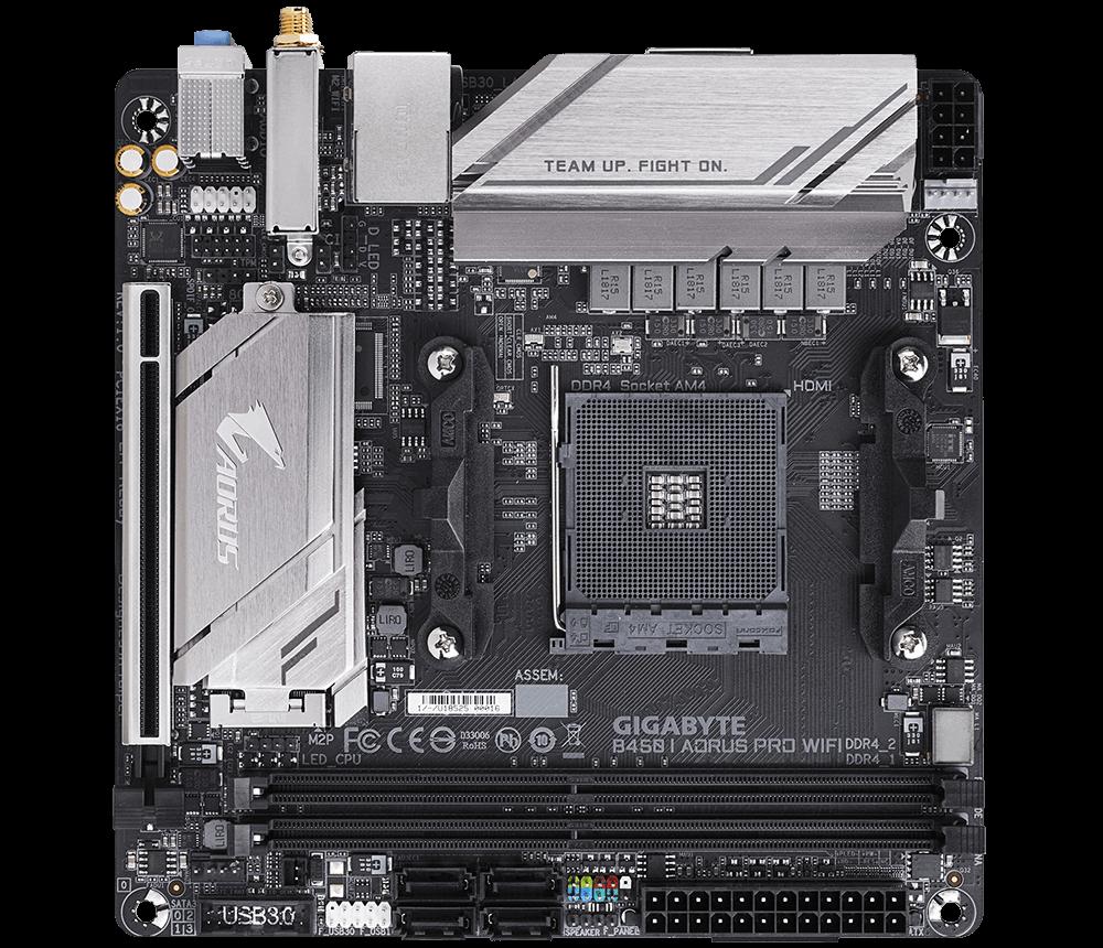 Placa de baza Gigabyte B450 I AORUS PRO WIFI Socket AM4