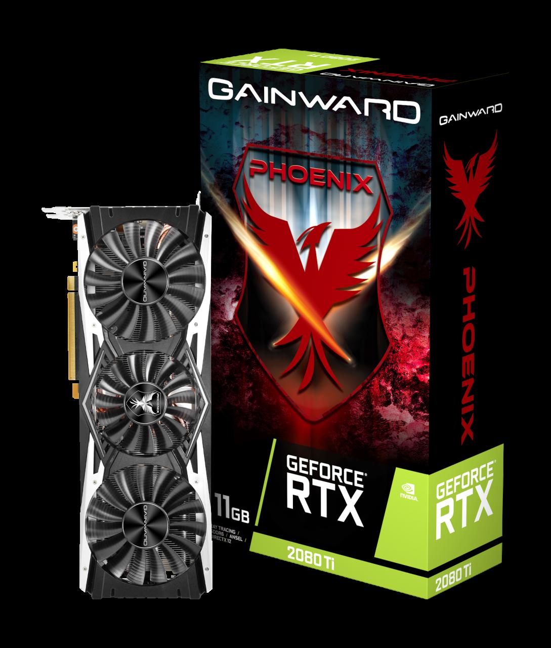 Placa Video Gainward GeForce RTX 2080 Ti Phoenix 11GB GDDR6 352 biti
