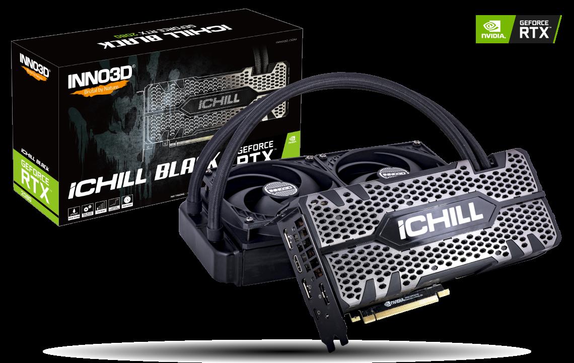 Placa Video Inno3D GeForce RTX 2080 iChill Black 8GB GDDR6 256 biti