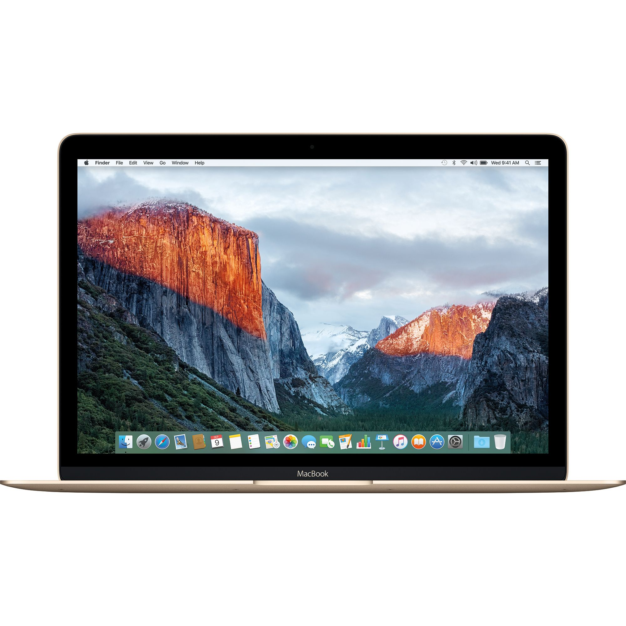 Notebook Apple MacBook 12 Retina Intel Core M3 1.2 GHz RAM 8GB SSD 256GB Tastatura INT Gold