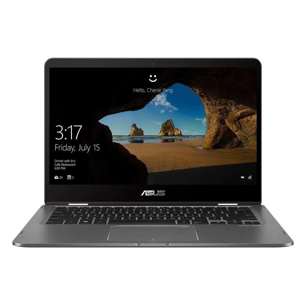 Ultrabook Asus ZenBook Flip UX461FN 14 Full HD Touch Intel Core i7-8565U MX150-2GB RAM 8GB SSD 256GB Windows 10 Home Gri