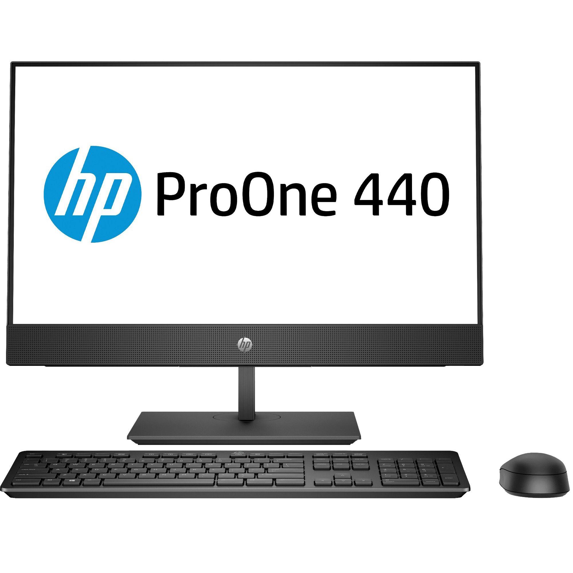 Sistem All-In-One HP ProOne 440 G4 23.8 Full HD Intel Core i5-8500T RAM 8GB SSD 256GB FreeDOS