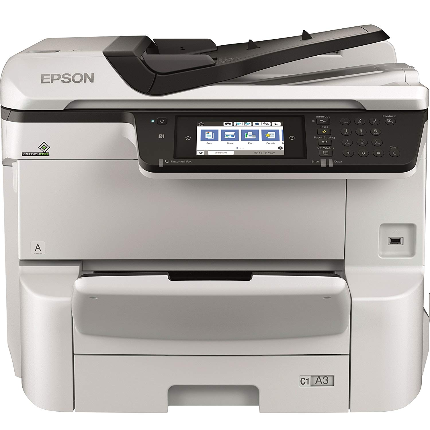 Multifunctional Inkjet Color Epson WorkForce WF-C8610DWF