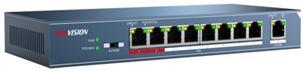 Switch Hikvision DS-3E0109P-E fara management cu PoE 8x100Mbps-RJ45