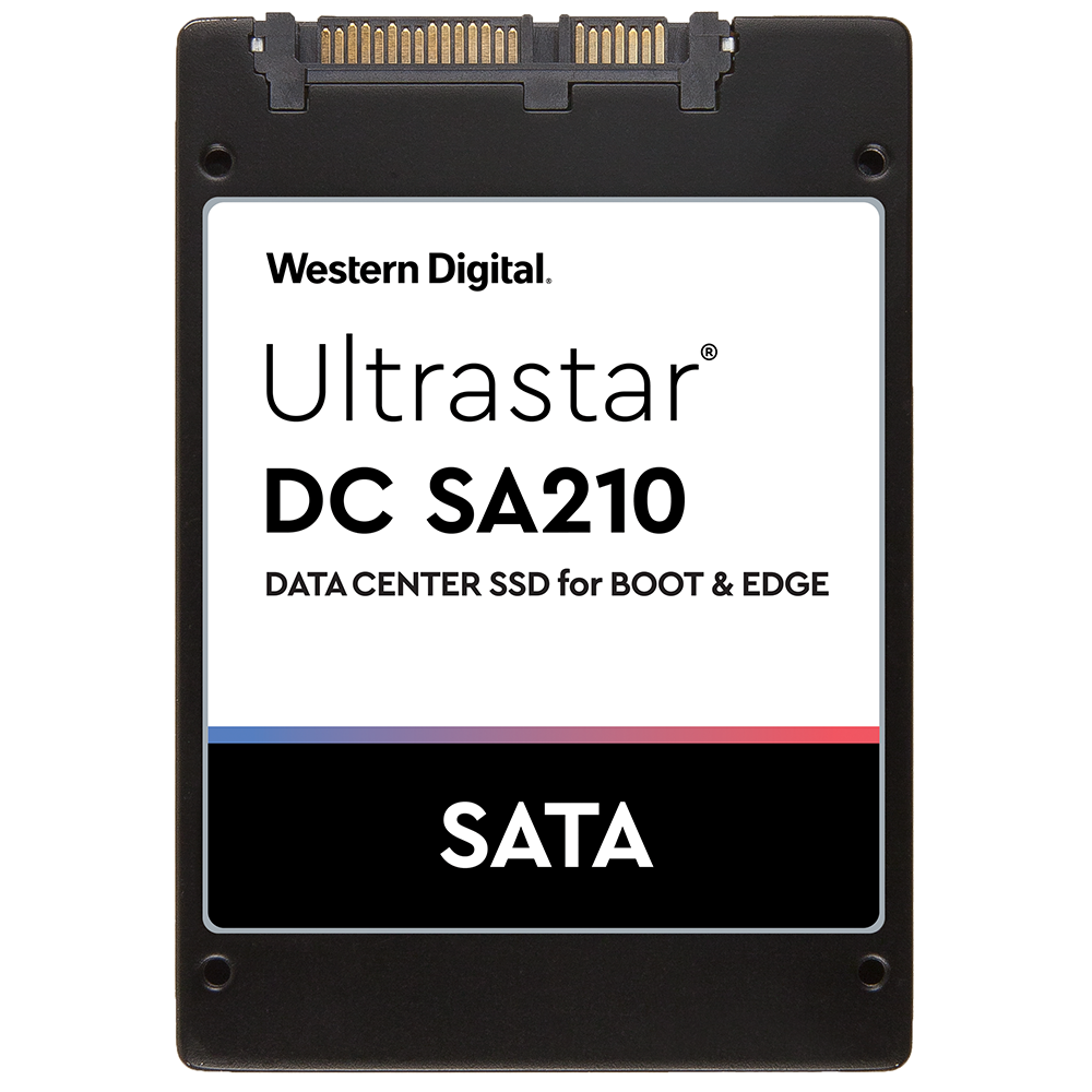 Hard Disk SSD Western Digital Ultrastar DC SA210 480GB 2.5