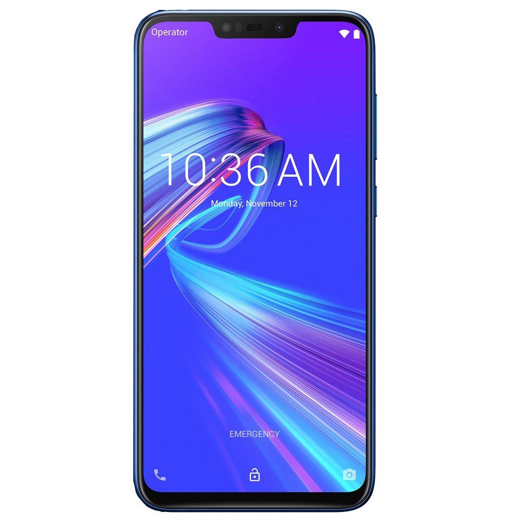 Telefon Mobil Asus ZenFone Max M2 ZB633KL 32GB Flash 4GB RAM Dual SIM 4G Blue