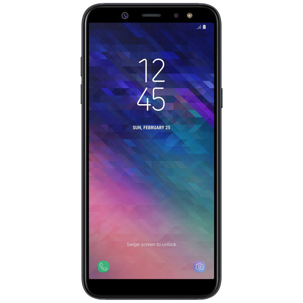 Telefon Mobil Samsung Galaxy A6 (2018) 32GB Flash 3GB RAM Single SIM 4G Black