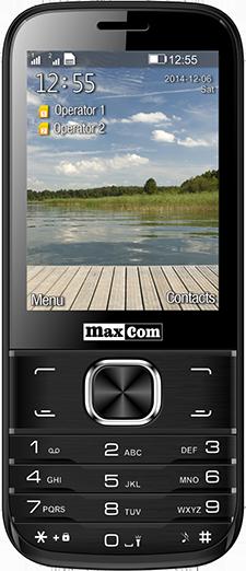 Telefon Mobil Maxcom Classic MM237 Dual SIM Black