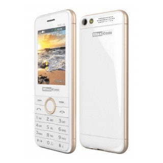 Telefon Mobil Maxcom Classic MM141 Dual SIM White Champagne
