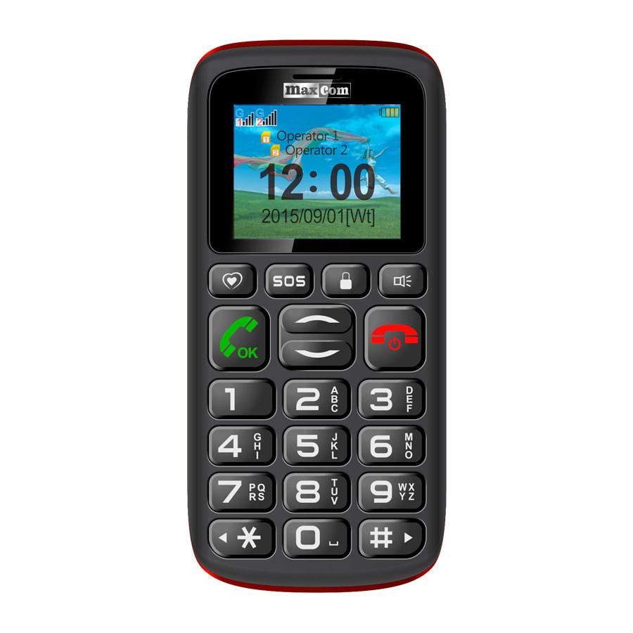 Telefon Mobil Maxcom Comfort MM428 Dual SIM Black