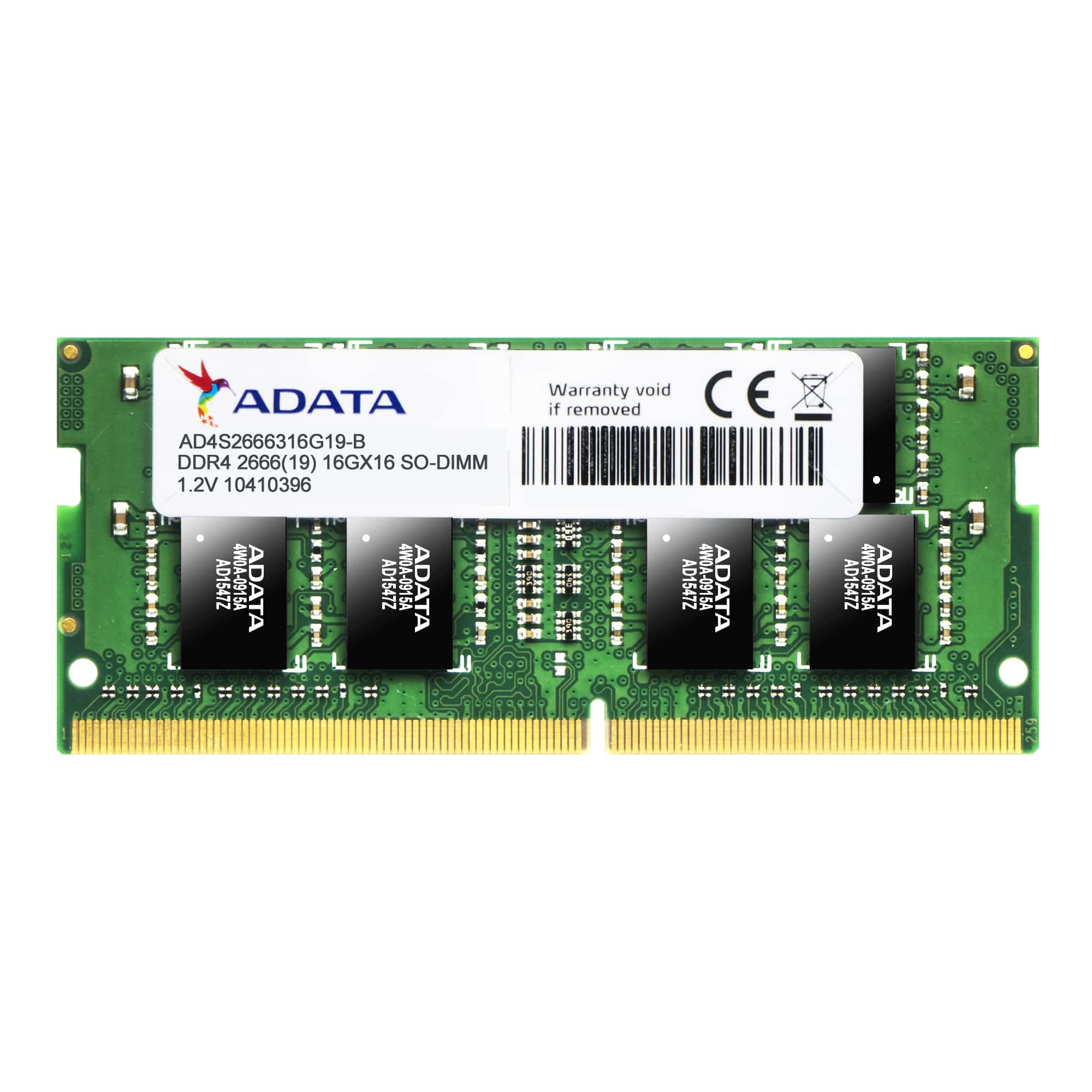 Memorie Notebook A-Data AD4S2666J4G19-S 4GB DDR4 2666MHz CL19