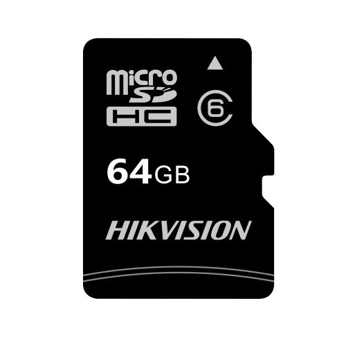 Card de Memorie Hikvision C1 Micro SDHC 64GB UHS-I + Adaptor